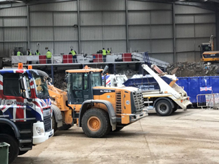 grab hire and waste management agency brentford